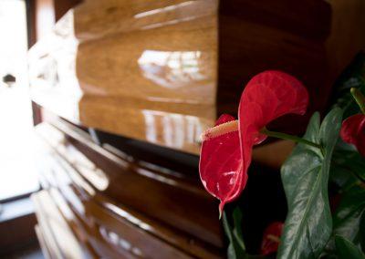 Particolari sede operativa onoranze funebri amato