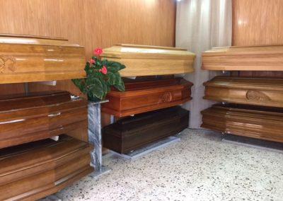 Esposizione onoranze funebri amato